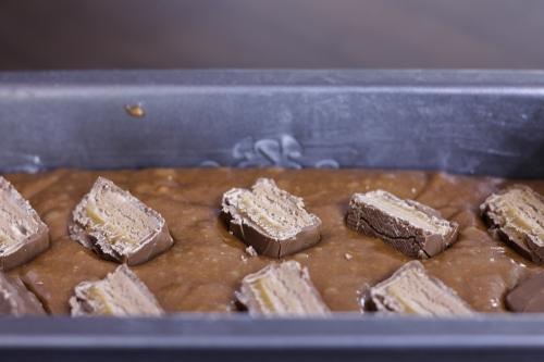 Mars bar loaf cake
